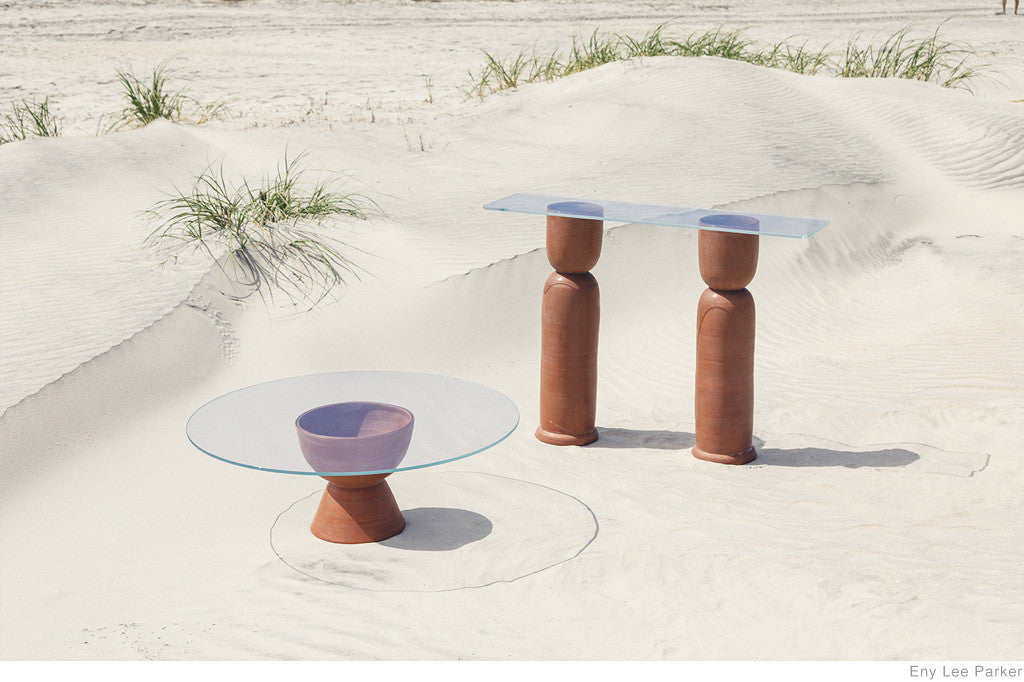 Ceramic Furniture by Eny Lee Parker