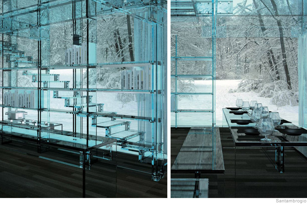 Concept Glass Houses by Santambrogio