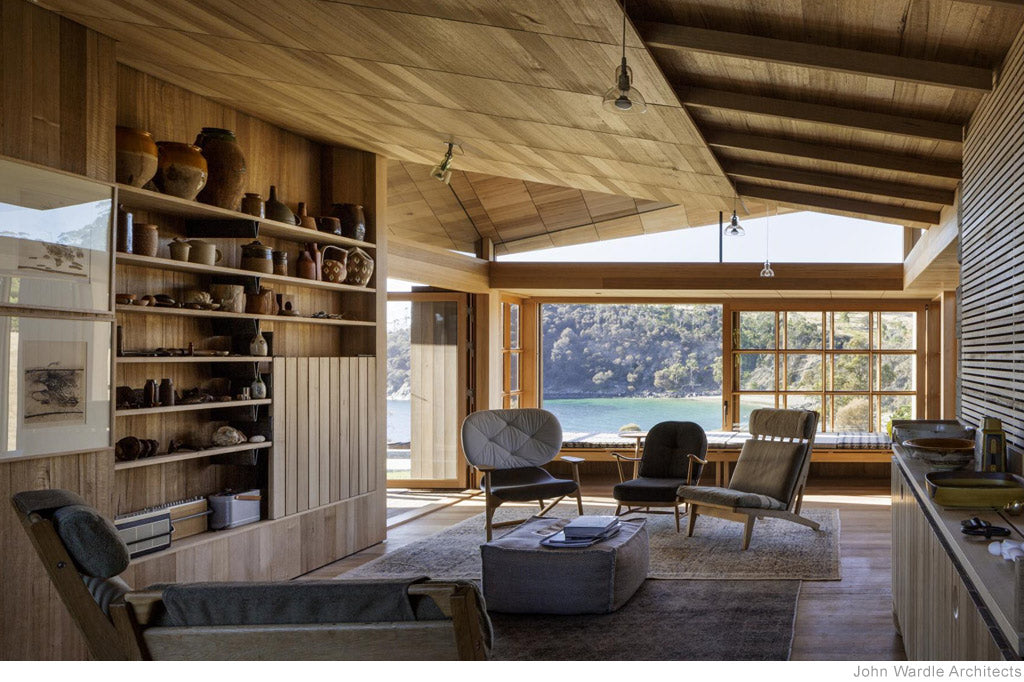 Captain Kelly's Cottage by John Wardle Architects