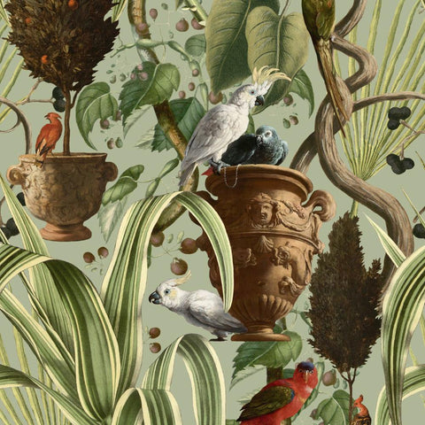 Exotic Menagerie Wallpaper - Compendium Collection by MINDTHEGAP | Do Shop