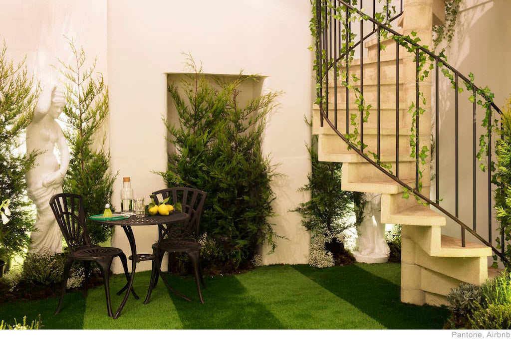 Outside In House by Pantone Greenery, London: GBP 200 Per Night