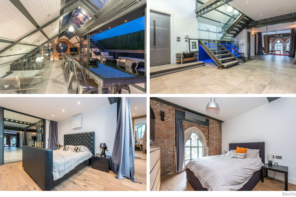 Converted Iron Works Penthouse, London: GBP 3,995,000