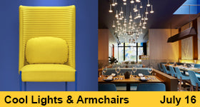 Cool Lights and Armchairs