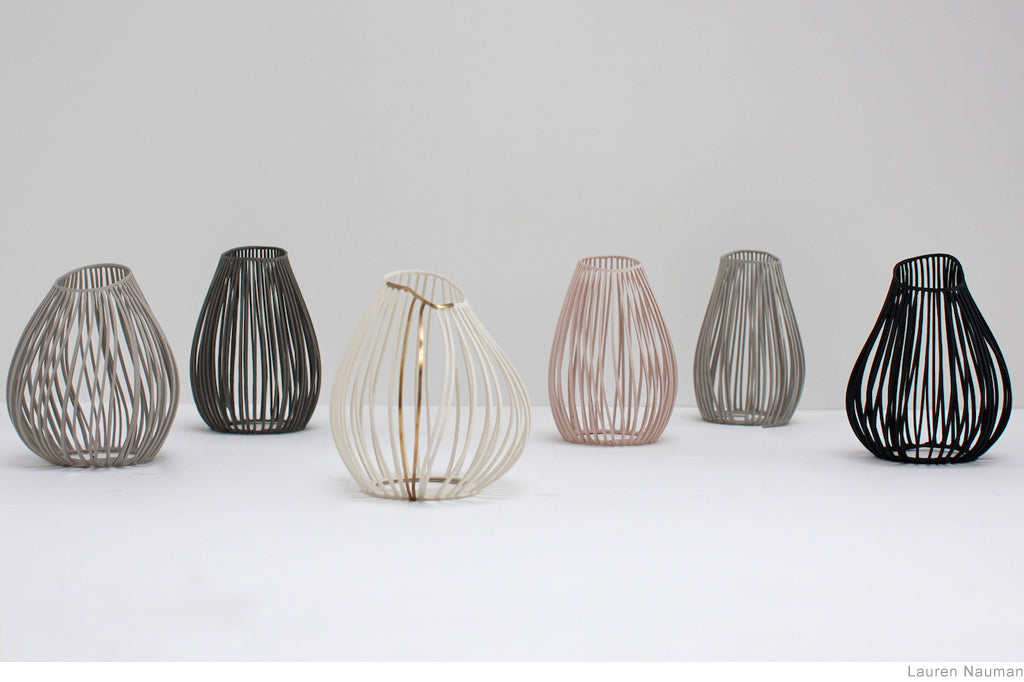 Lines Jars and Dishes by Lauren Nauman