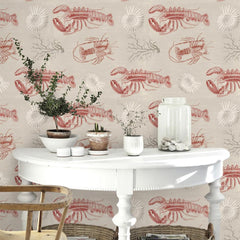 Lobster Wallpaper - Mind The Gap - Do Shop