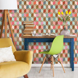 Coloured Geometry Wallpaper - Mind The Gap - Do Shop