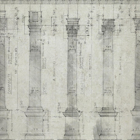 Colonnade Wallpaper by MINDTHEGAP | Do Shop