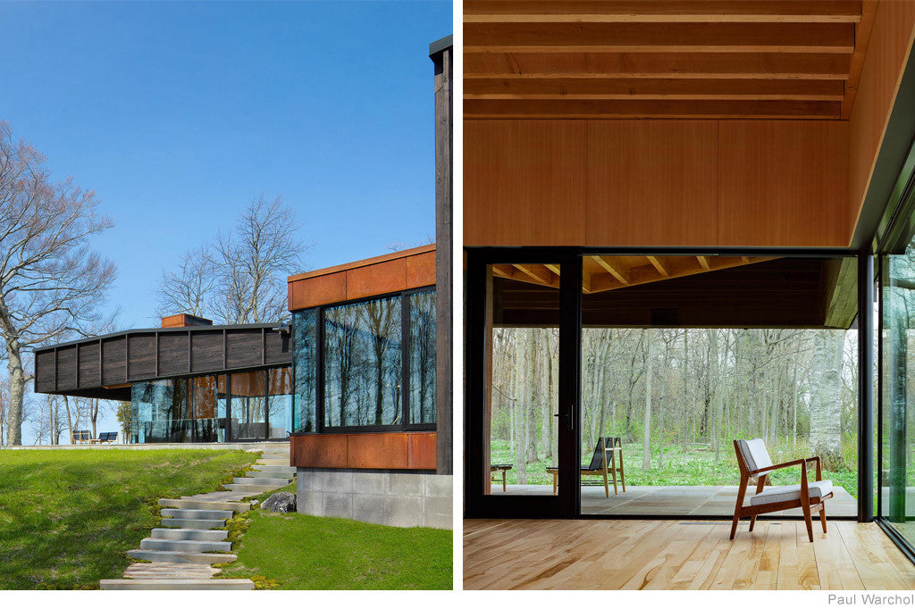 Michigan Lake House by Desai Chia Architecture and Environment Architects