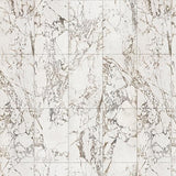 White Marble Tiles 48.7 x 76.9 cm Materials Wallpaper by Piet Hein Eek