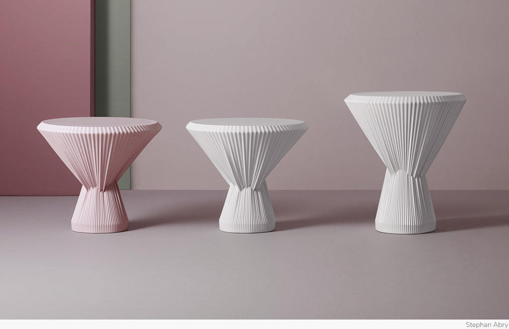 Plisago Side Table by Studio Besau Marguerre for Furstenberg