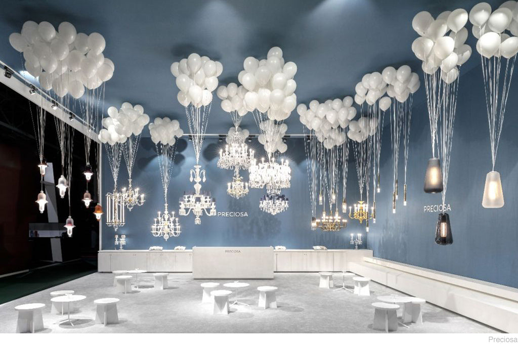 Maison objet january 2018 discoveries do shop last but not least the award for the most eye catching display goes to czech crystal lighting brand preciosa those who managed to elbow their way through aloadofball Image collections