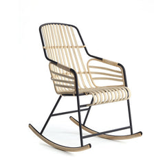 Raphia Rocking Chair from Casamania