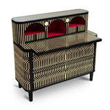 Vanilla Noir The General Study Table - Scarlet Splendour - Do Shop