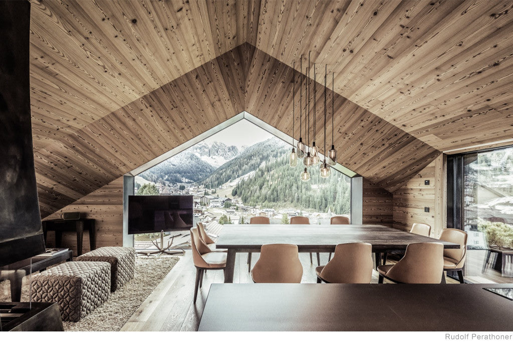 House in Selva di Val Gardena by Rudolf Perathoner