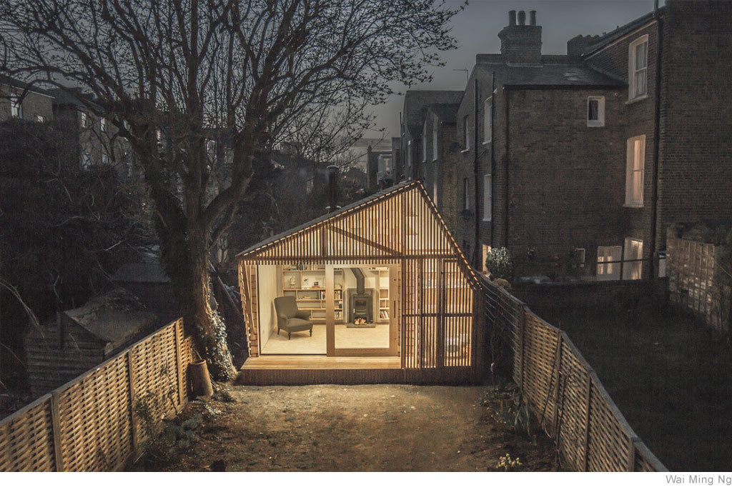 Writer's Shed by Surman Weston & Deane