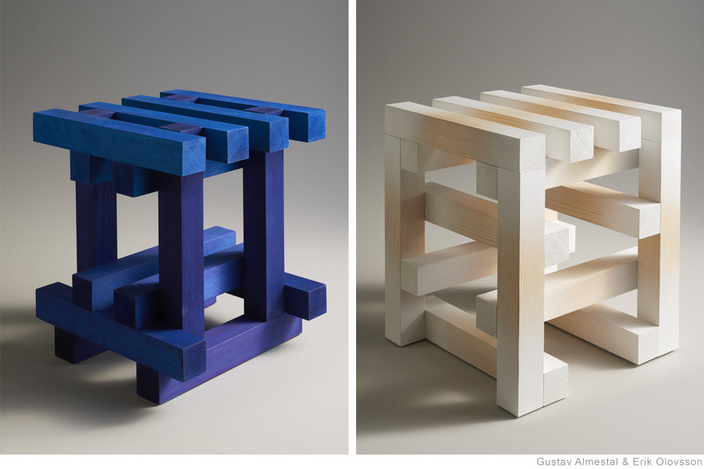 ST∞L Multi-colour Stools by Erik Olovsson