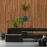 Teak On Teak Wallpaper by Piet Hein Eek