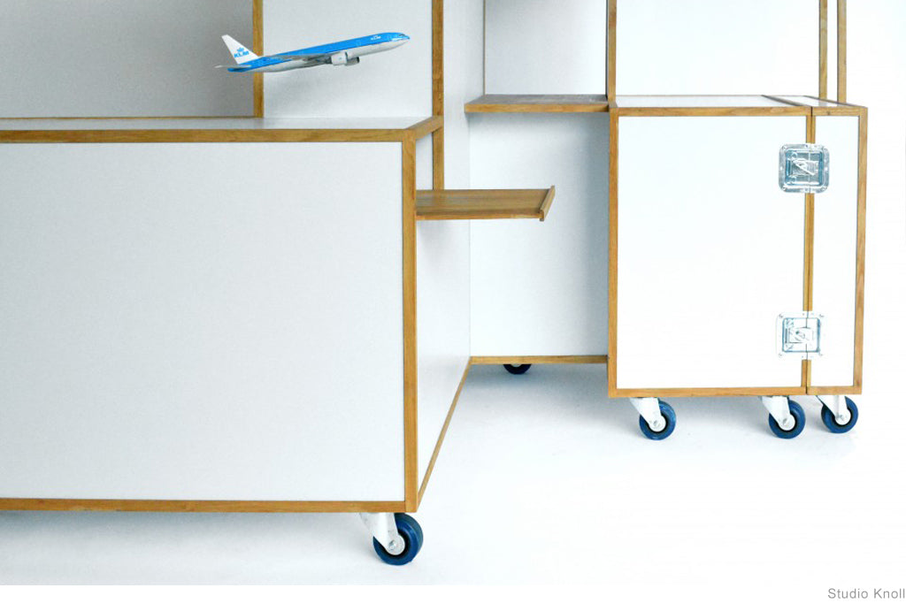 Trolleys by Studio Knol and Christiaan Bakker