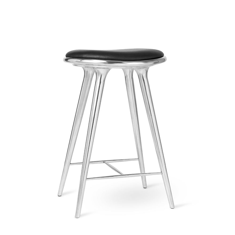 Mater High Stool - Partly Recycled Aluminium - Mater - Do