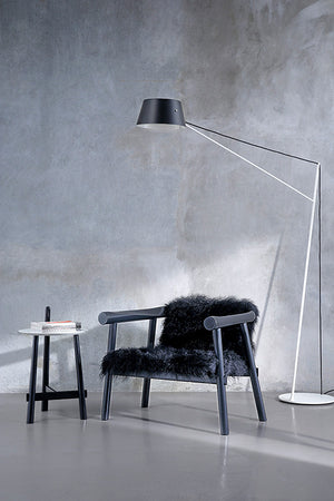 Altay Armchair - Black Goatskin - Coedition - Do Shop