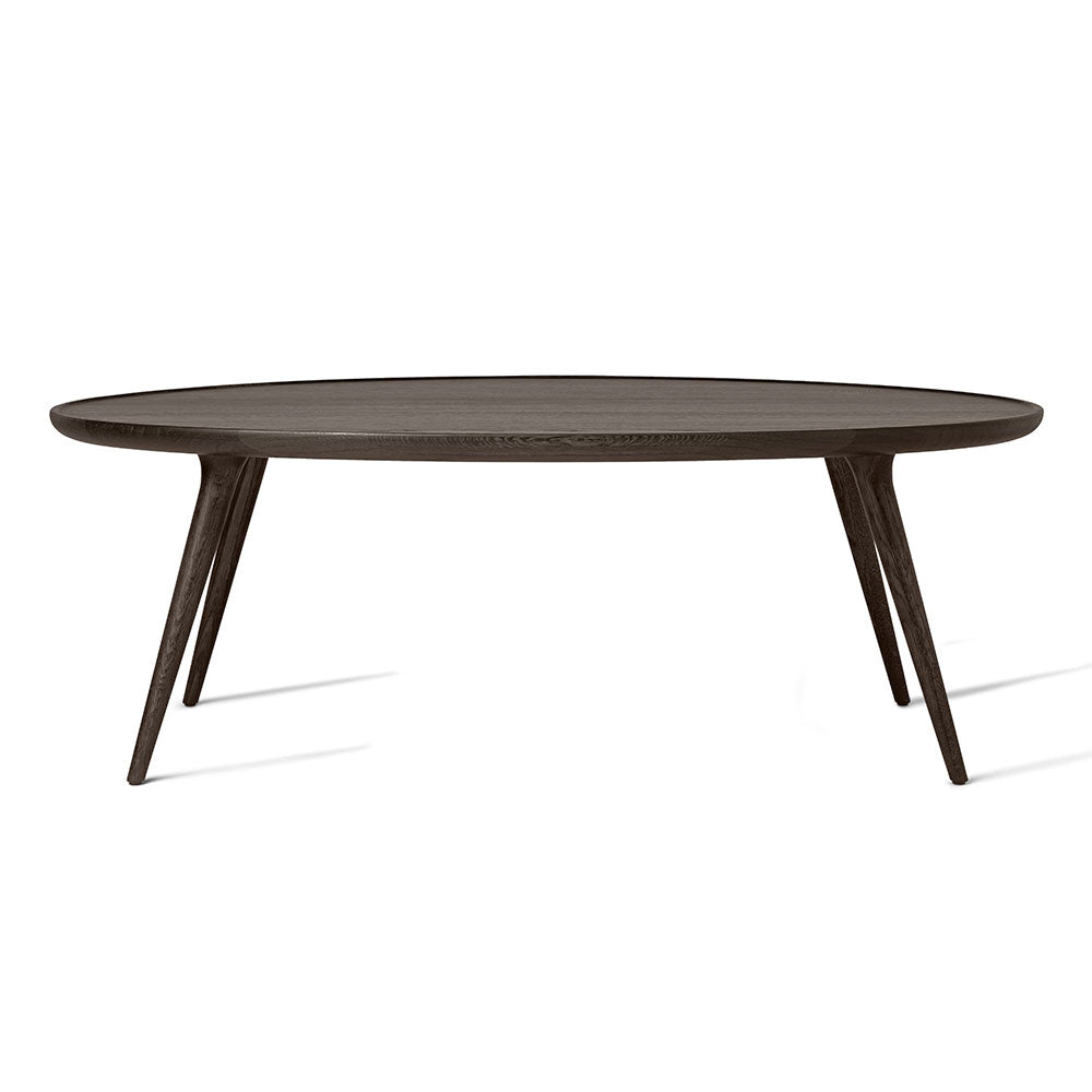 Accent Oval Lounge Table - Sirka Grey Oak - Do - Mater