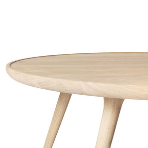 Accent Oval Lounge Table - Natural Matt Lacquer - Do - Mater