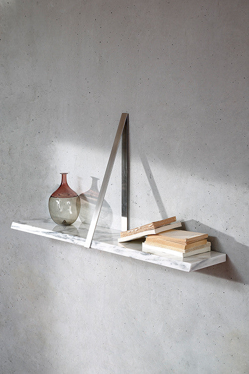 T-Square Wall Shelf - Marble - Coedition - Do Shop