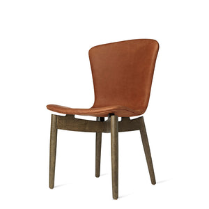 Shell Dining Chair - Dunes Rust Leather - Mater - Do