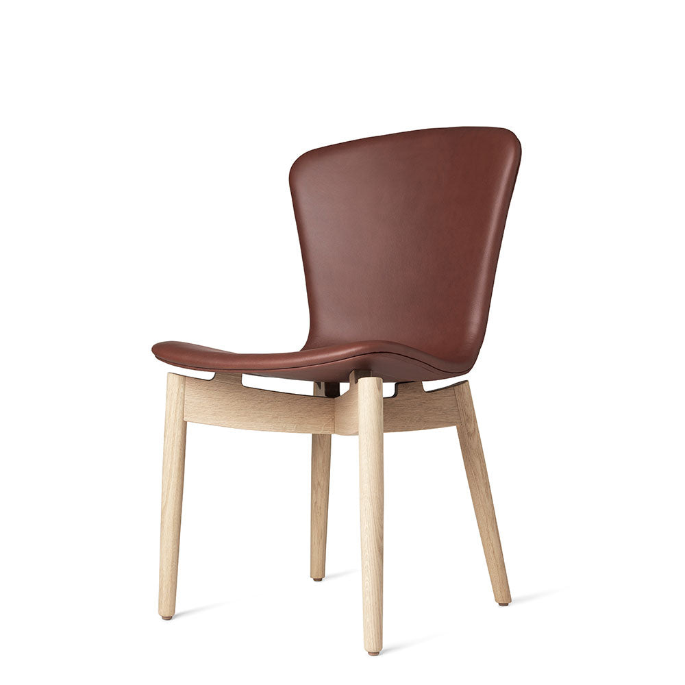 Shell Dining Chair - Ultra Cognac Leather - Mater - Do