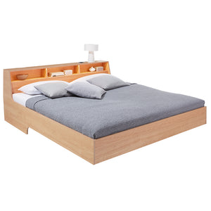 Slope Bed - Solid Oak - Mueller - Do Shop