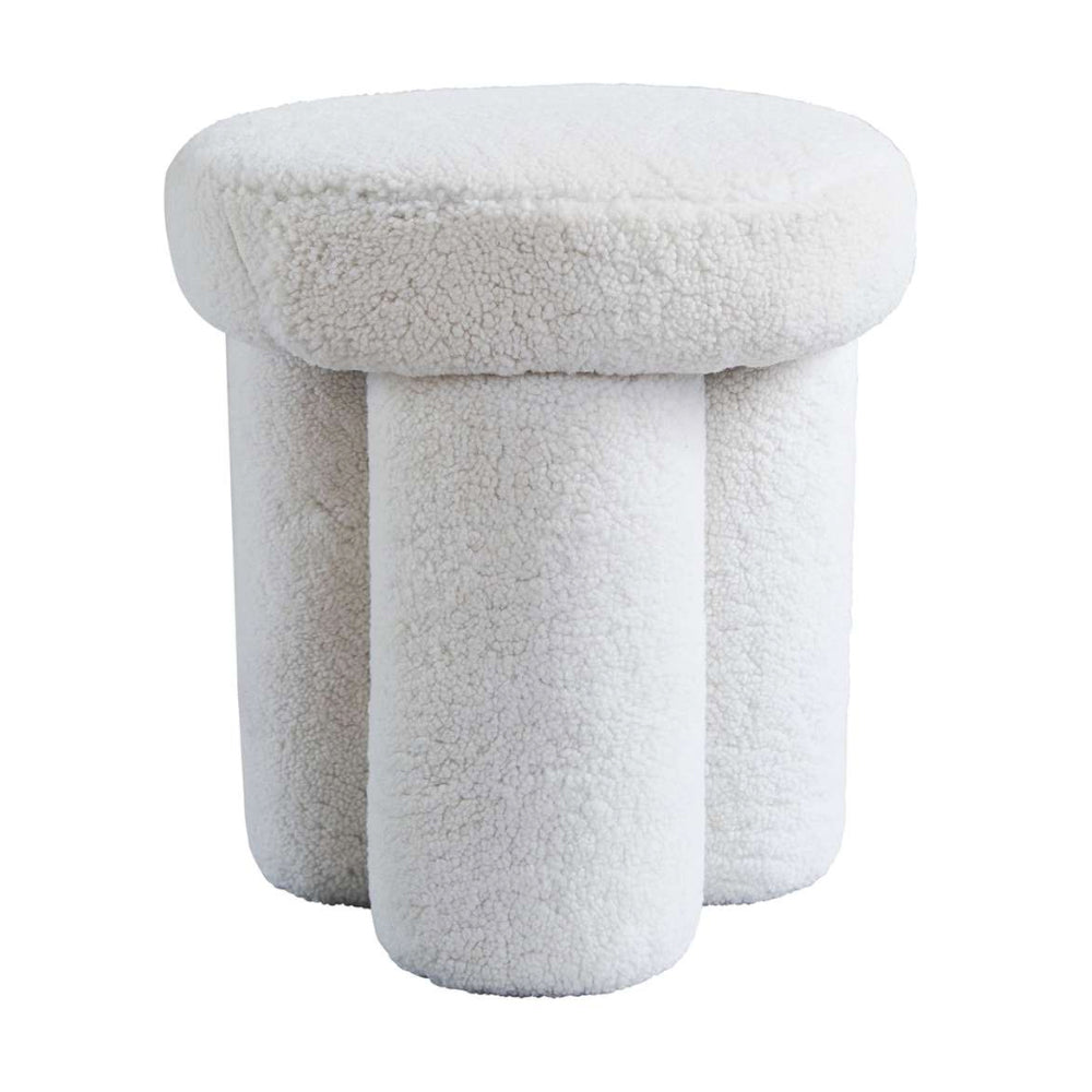 Big Foot Sheep Skin Stool by 101 Copenhagen | Do Shop