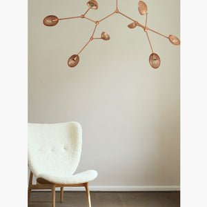 Drop Chandelier Perforated Rose by 101 Copenhagen | Do Shop