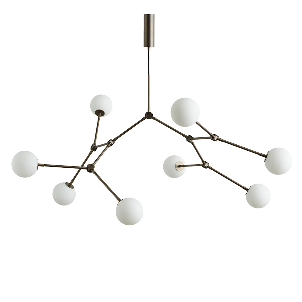 Drop Chandelier Bulb Oxidised by 101 Copenhagen | Do Shop