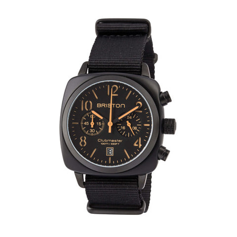 Clubmaster Chrono Black Matt - Briston - Do Shop