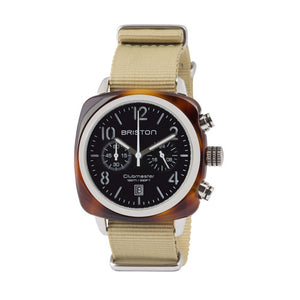 Clubmaster Chrono Tortoise Shell Black dial - Briston - Do Shop