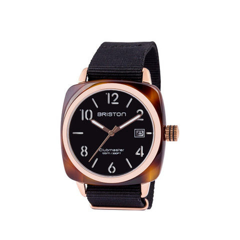 Clubmaster HMS Tortoise Shell Rose Gold - Briston - Do Shop