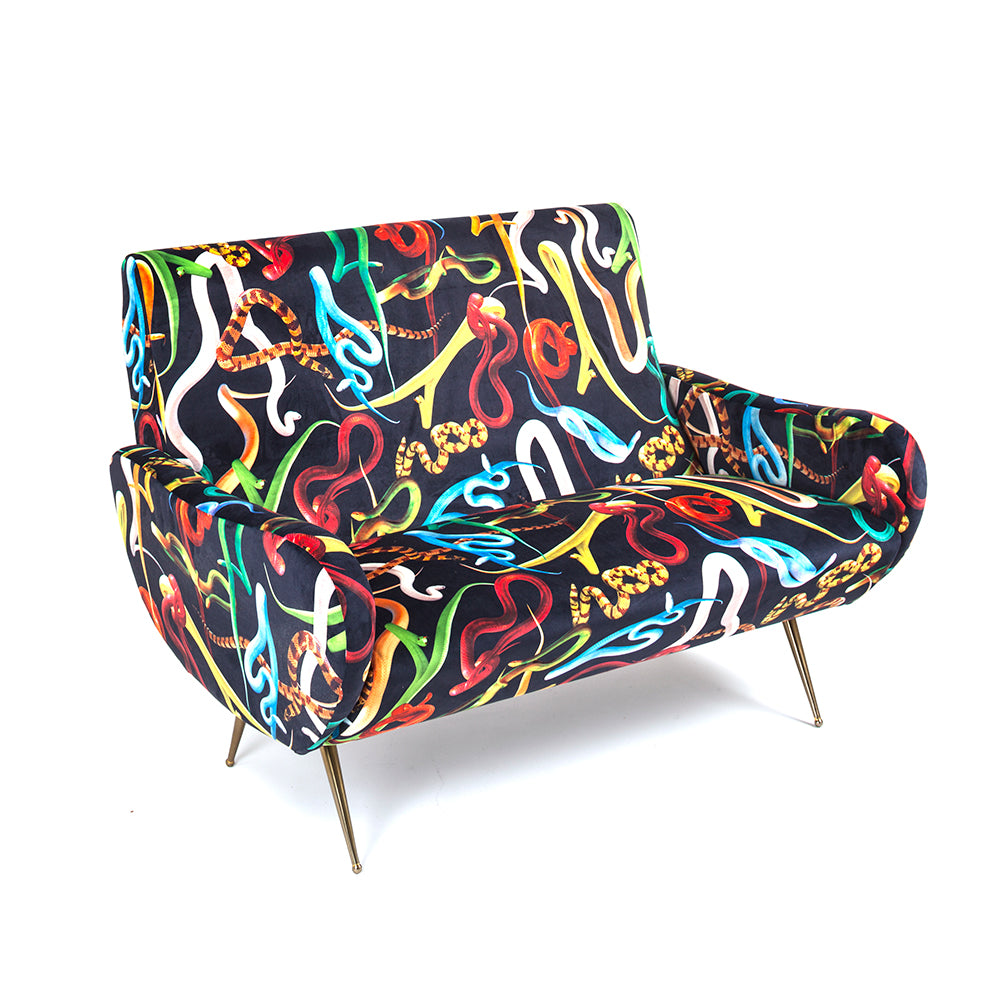 Snakes - 2 Seater Sofa - Seletti Wears Toiletpaper - Do Shop