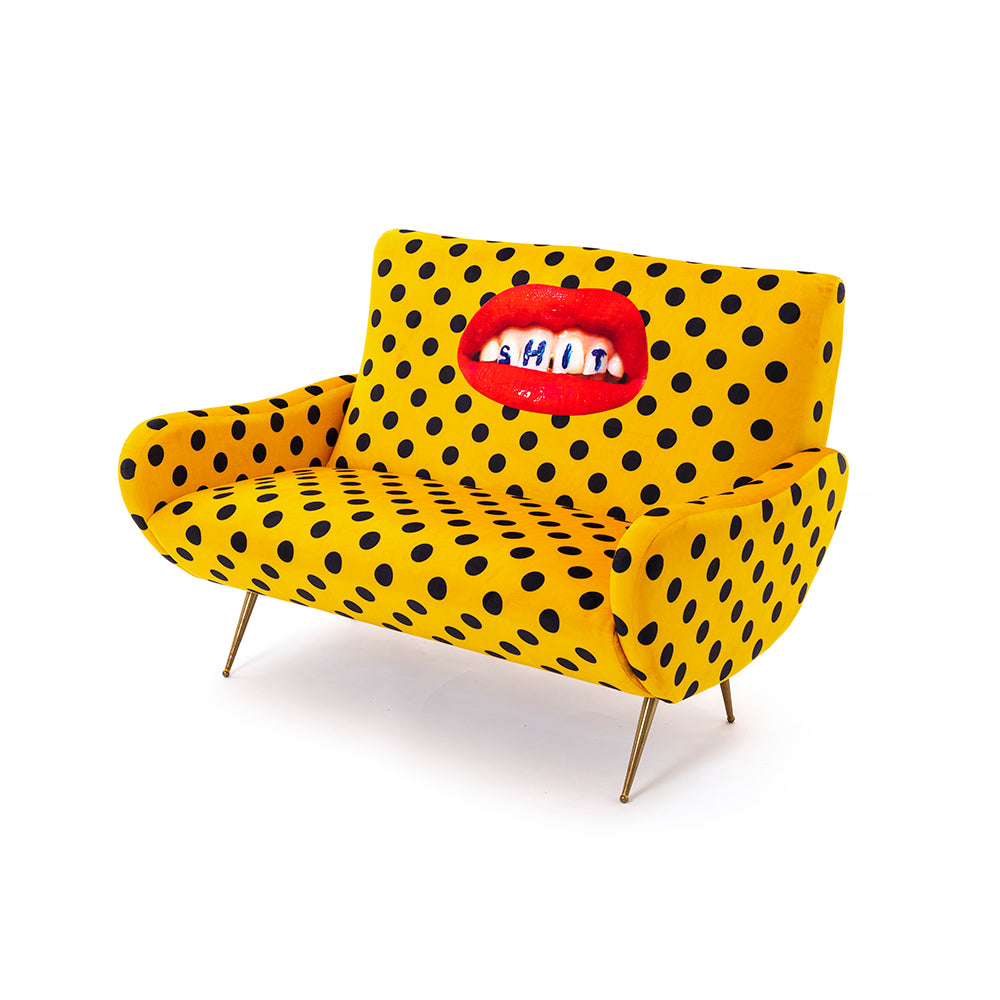 Shit - 2 Seater Sofa - Seletti Wears Toiletpaper - Do Shop