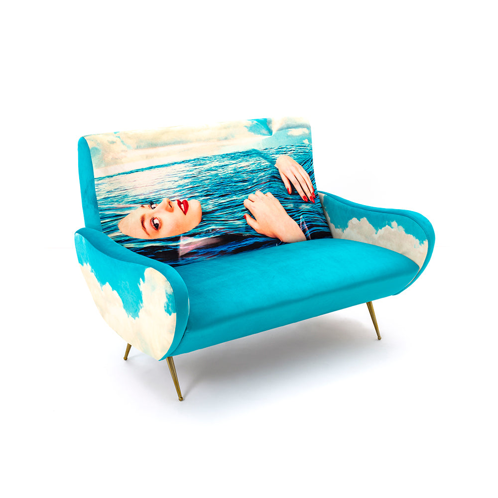 Sea Girl - 2 Seater Sofa - Seletti Wears Toiletpaper - Do Shop