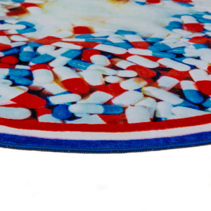 Pills - Round Rug - Seletti Wears Toiletpaper - Do Shop