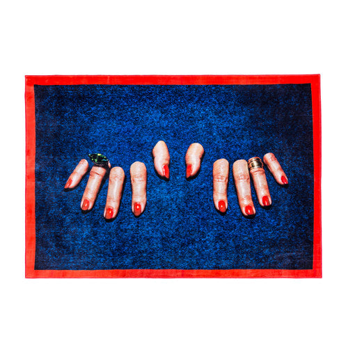 Fingers - Rectangular Rug - Seletti Wears Toiletpaper - Do Shop