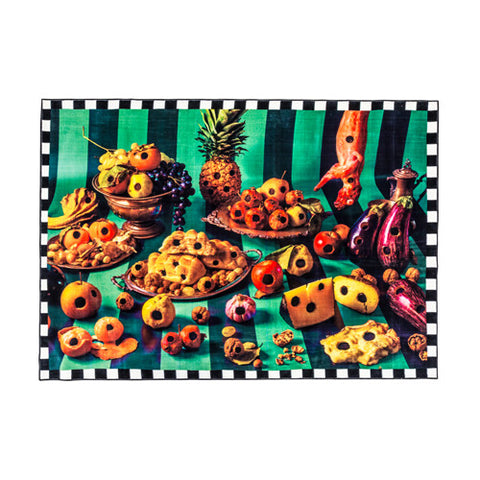 Food With Holes - Rectangular Rug - Seletti Wears Toiletpaper - Do Shop