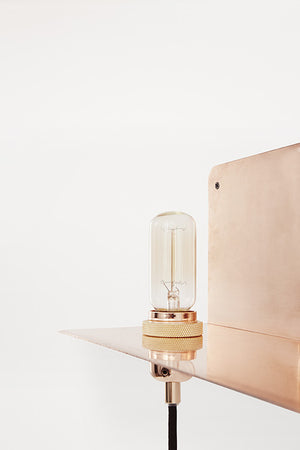 90 Degrees Wall Light Copper - Frama - Do Shop