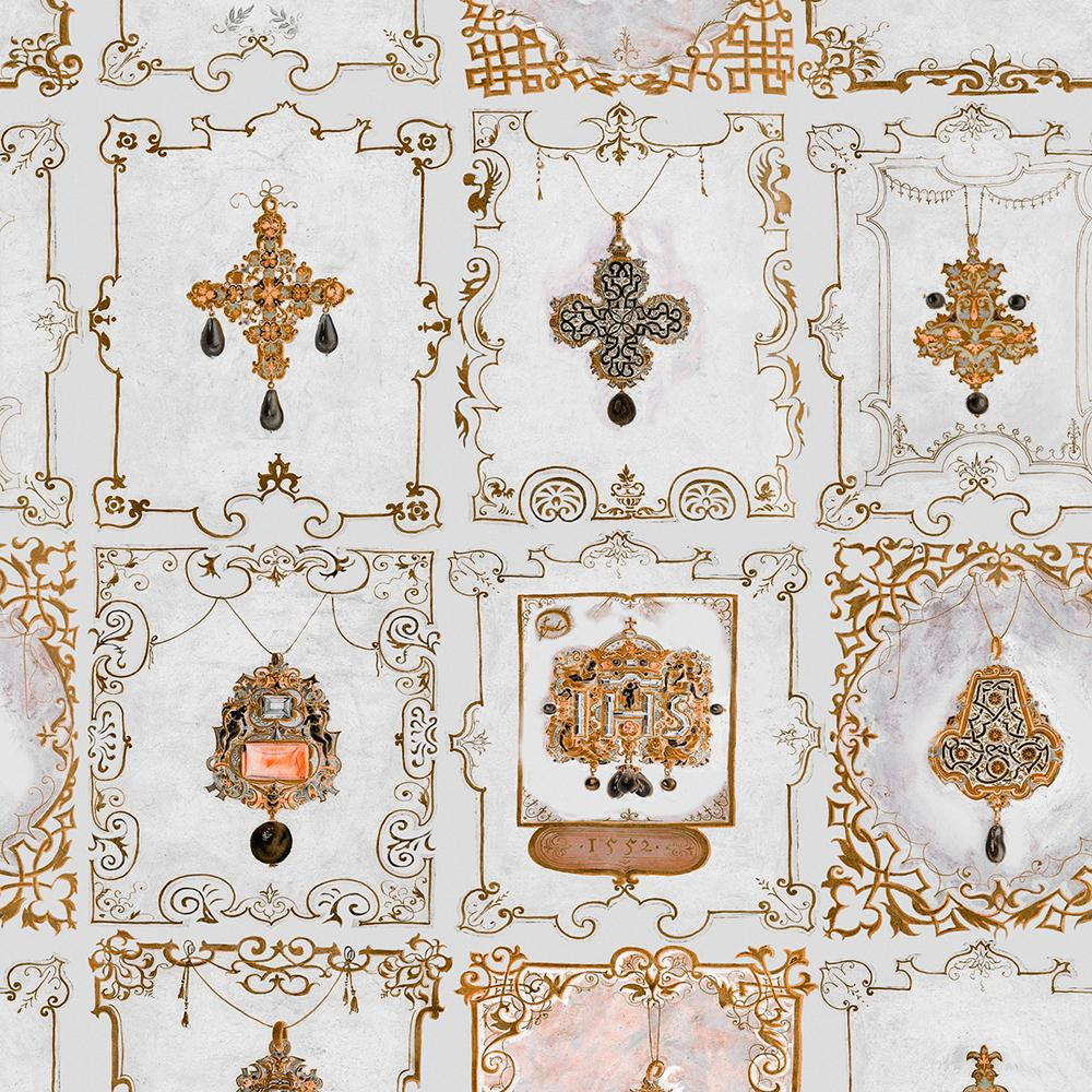 Anna's Jewelry Neutral Collectables Wallpaper - MINDTHEGAP - Do Shop