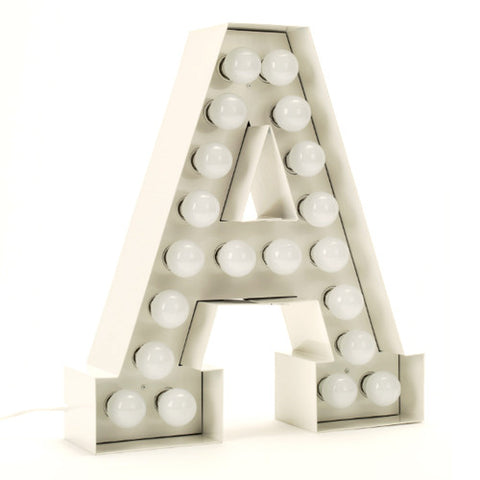 Vegaz Light - Letter A - Seletti - Do Shop