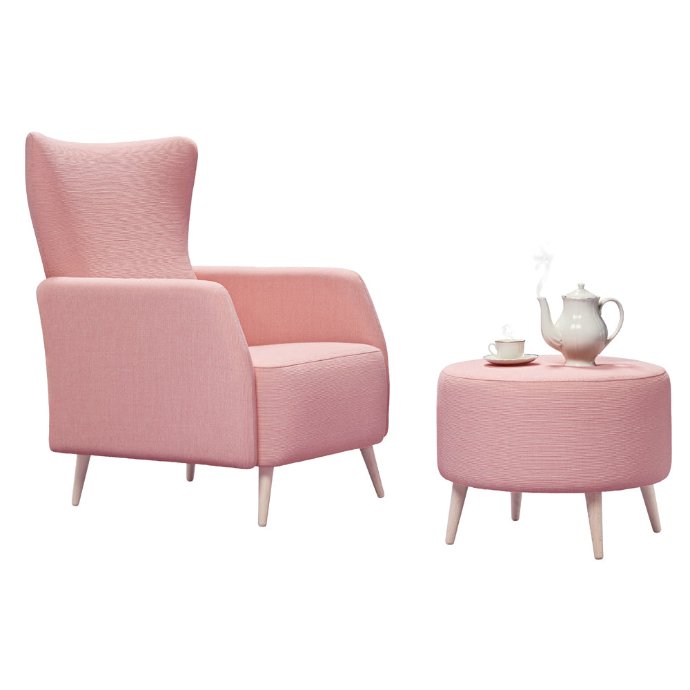 Alice Armchair and Ottoman - Missana - Do Shop