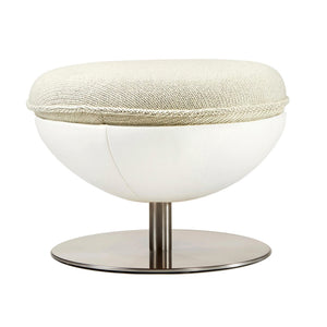 Art White Footstool - Lillus - Lento - Do Shop