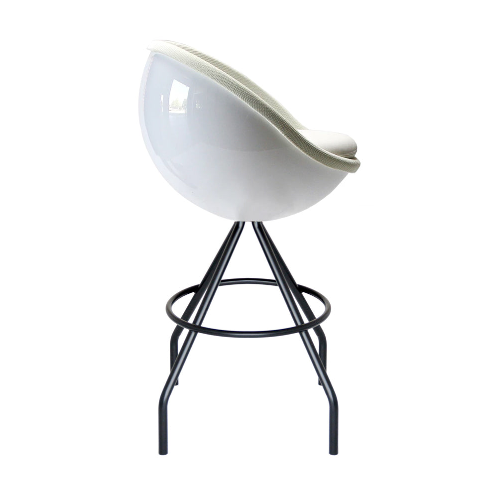 Art White Ball Barstool - Lillus - Lento - Do Shop