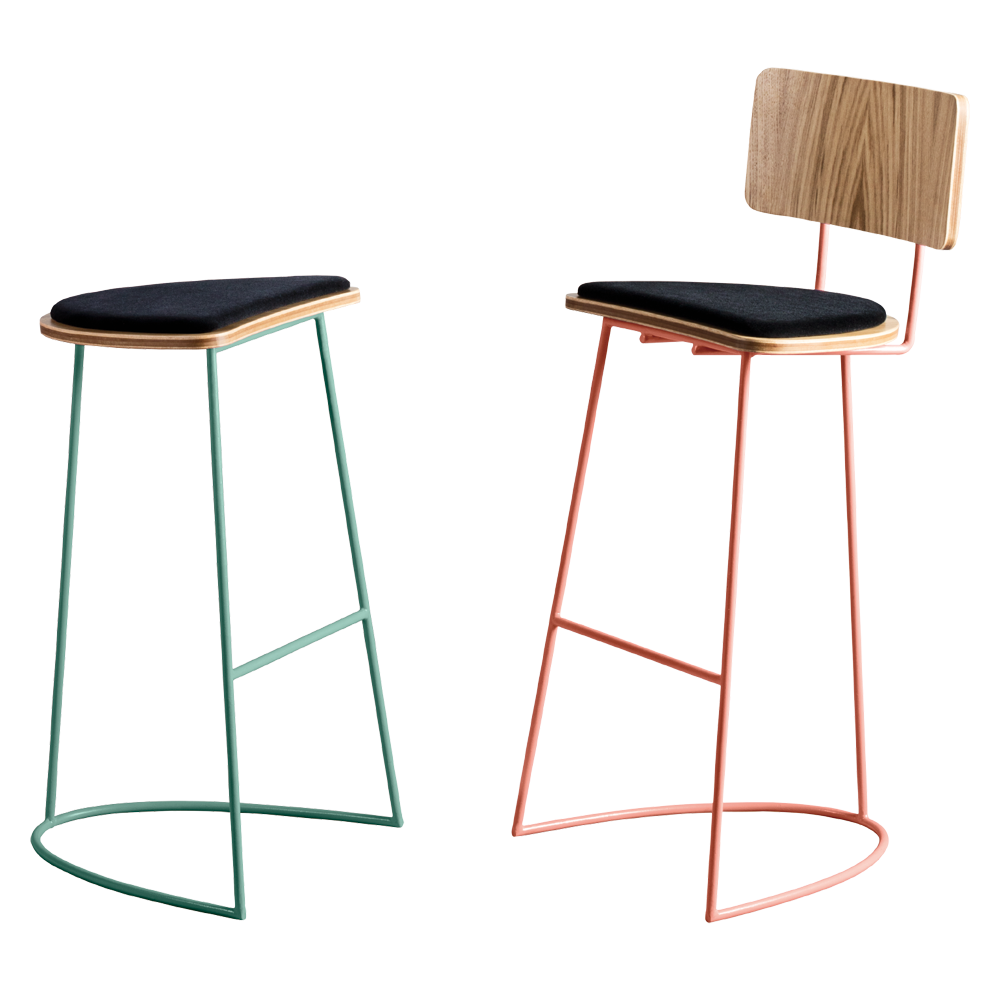 Boomerang Bar Stool - Missana - Do Shop
