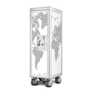 Bordbar Airplane Trolley - World Map - Bordbar - Do Shop